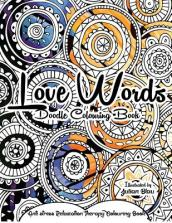 Love Words Doodle Colouring Book