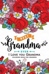 I Love You Grandma Coloring Book