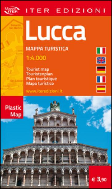 Lucca. Mappa turistica 1:4.000. Ediz. multilingue