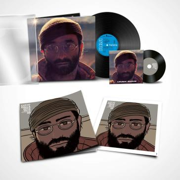 Lucio dalla 40th remastered illustrated numbered edition