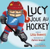 Lucy joue au hockey