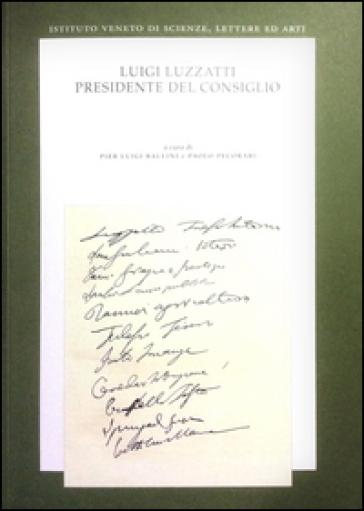 Luigi Luzzatti, Presidente del Consiglio - P. L. Ballini | Kritjur.org