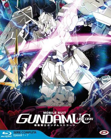 MOBILE SUIT GUNDAM UNICORN THE COMPLETE SERIES 7 O (7 Blu-Ray)