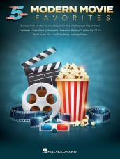 MODERN MOVIE FAVORITES FOR FIVE-FINGER PIANO BOOK