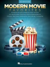 MODERN MOVIE FAVORITES BIG-NOTE PIANO BOOK