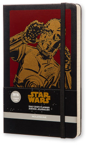 Moleskine 2016 12M Limited Edition Planner Star Wars Daily Large