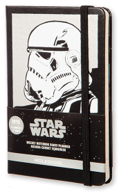 Moleskine 2016 12M Limited Edition Planner Star Wars Weekly Notebook Pocket