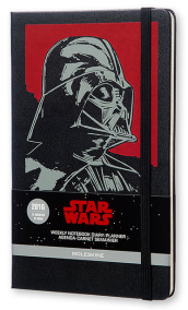 Moleskine 2016 12M Limited Edition Planner Star Wars Weekly Notebook Large