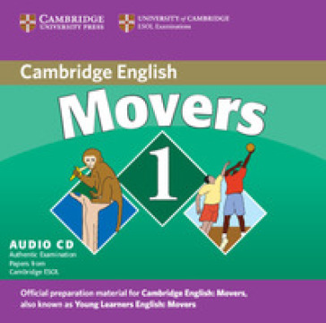 MOVERS 1 AUDIO CD