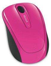 MS Wireless Mobile Mouse 3500 Mag. Pink