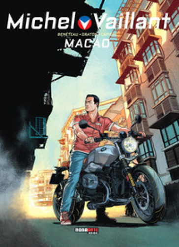 Macao. Michel Vaillant. 7.