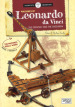 Machines of Leonardo da Vinci. The catapult and the crossbow. Scientist and inventors. Con 2 gadget