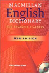 Macmillan english dictionary. Con CD-ROM