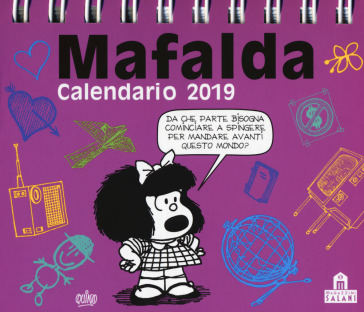 Mafalda calendario da tavolo 2019 idee regalo for Regalo libri gratis