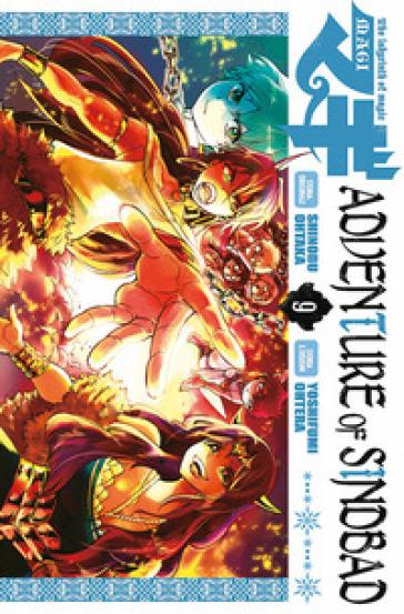 Magi. Adventure of Sindbad. 9. - Shinobu Ohtaka | Rochesterscifianimecon.com