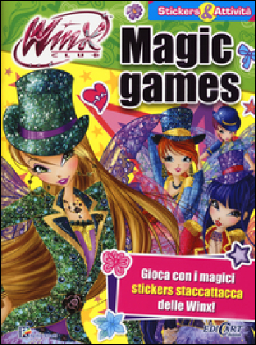 Magic games. Winx club. Con adesivi. Con aggiornamento online