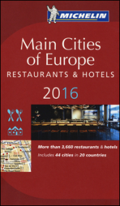 Main cities of Europe 2016. Restaurants & hotels