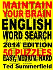 Maintain Your Brain English Word Search, 2014 Edition