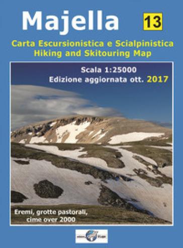 Majella. Carta escursionistica e scialpinistica 1:25000