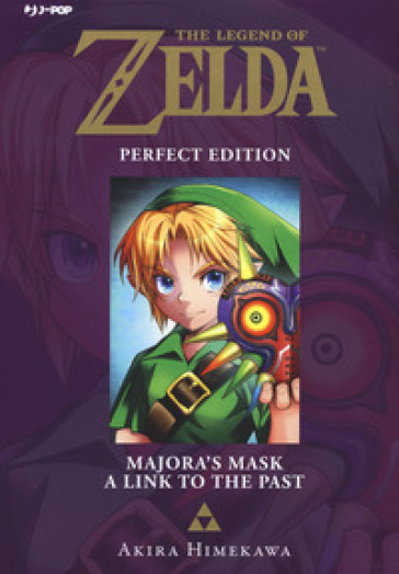 Majora's mask-A link to the past. The legend of Zelda. Perfect edition. 3. - Akira Himekawa | Rochesterscifianimecon.com