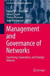Management and Governance of Networks