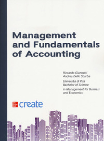 Management and fundamentals of accounting - Riccardo Giannetti pdf epub