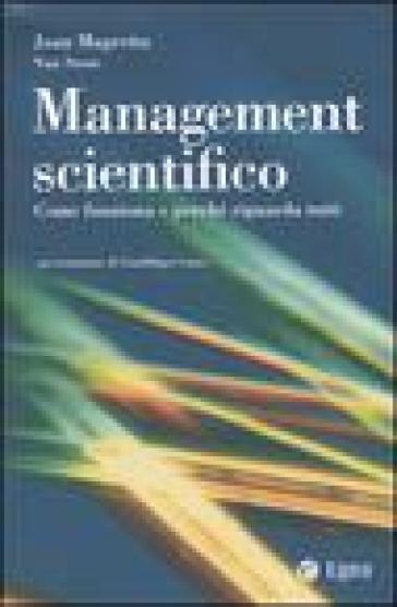 Management scientifico. Come funziona e perché riguarda tutti - Joan Magretta pdf epub