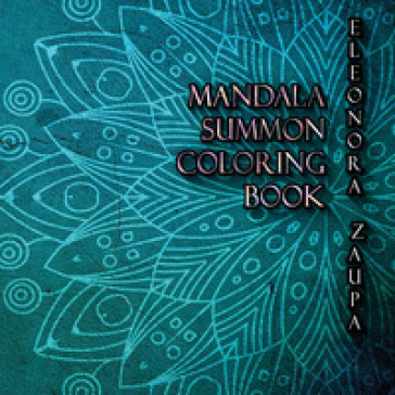 Mandala Summon. Coloring book