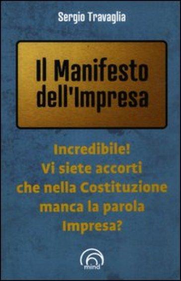 Manifesto dell'impresa (Il) - Sergio Travaglia  