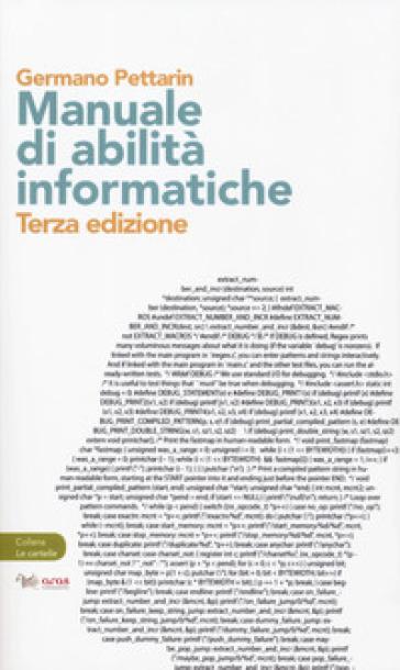 Manuale di abilità informatiche - Germano Pettarin | Thecosgala.com