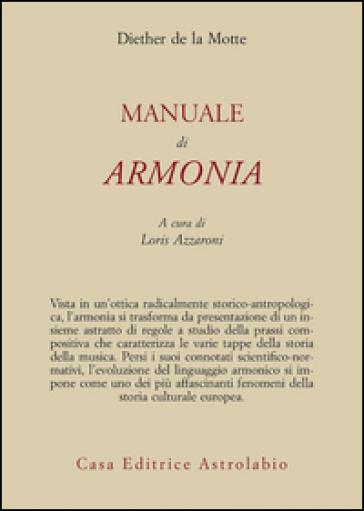 Manuale di armonia - Diether de La Motte pdf epub