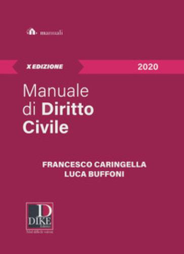 Manuale di diritto civile 2020 - Francesco Caringella | Thecosgala.com