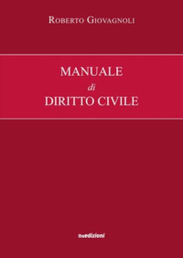 Manuale di diritto civile - Roberto Giovagnoli   Rochesterscifianimecon.com
