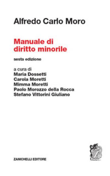 Manuale di diritto minorile - Alfredo Carlo Moro  