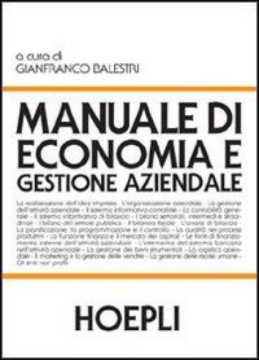 Manuale di economia e gestione aziendale   ebay.