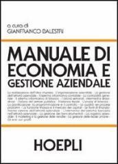 Libro manuale di economia e gestione aziendale hoepli manuali.