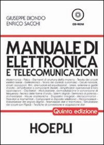 manuale di elettronica e telecomunicazioni per gli ist tecnici rh mondadoristore it  manuale di elettronica e telecomunicazioni hoepli usato