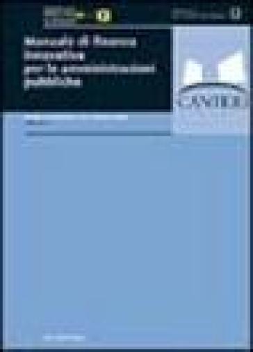 Manuale di finanza innovativa per le amministrazioni pubbliche - M. Meneguzzo pdf epub