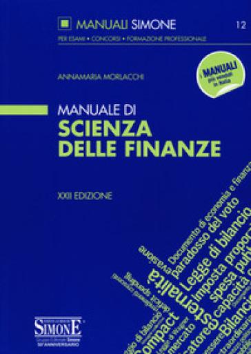 Manuale di scienza delle finanze