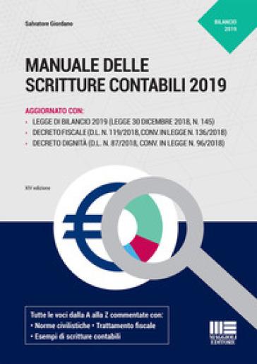 Manuale delle scritture contabili - Salvatore Giordano | Thecosgala.com