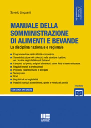 Manuale della somministrazione di alimenti e bevande - Saverio Linguanti pdf epub