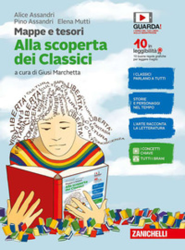 Mappe e tesori. Alla scoperta dei classici. Per la Scuola media. Con e-book - Alice Assandri   Rochesterscifianimecon.com