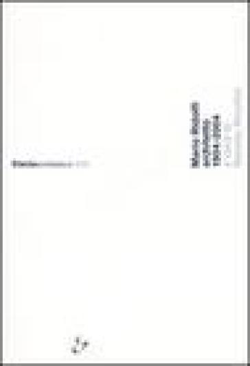 Mario Ridolfi architetto 1904-2004. Atti del Convegno (Roma, 9 dicembre 2004; Terni, 10 dicembre 2004) - R. Nicolini | Rochesterscifianimecon.com