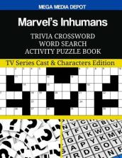 Marvel s Inhumans Trivia Crossword Word Search Activity Puzzle Book