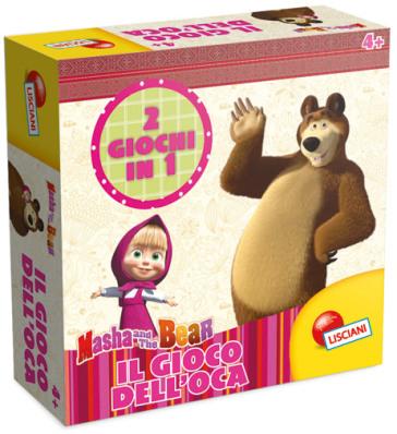 Masha e orso il gioco dell 39 oca idee regalo mondadori for Regalo libri gratis