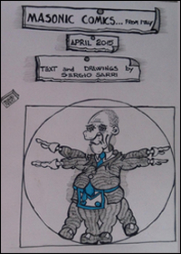 Masonic Comics from Italy - Sergio Sarri |