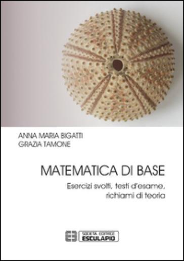 Matematica di base. Esercizi svolti, testi d'esame, richiami di teoria - Anna M. Bigatti pdf epub