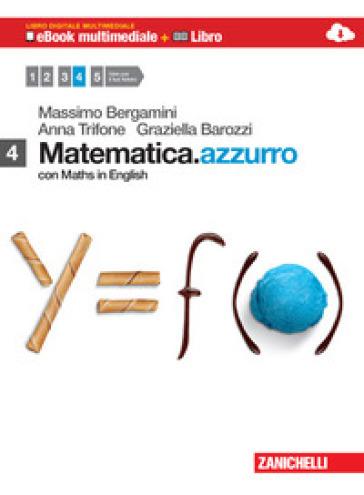 Matematica.azzurro. Con Maths in english. Con e-book. Con espansione online. Per le