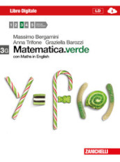 Matematica.verde. Con Maths in English. Vol. 3G. Con espansione onlinePer le Scuole superiori