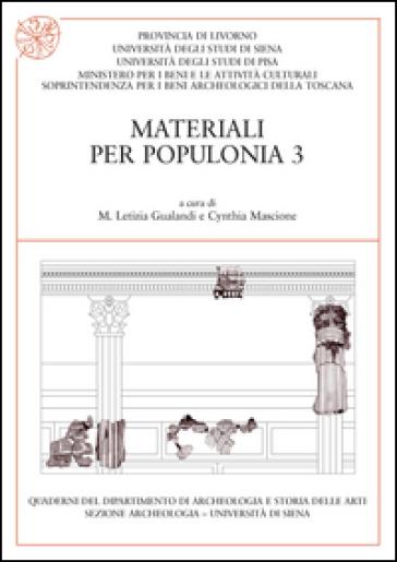 Materiali per Populonia. 3. - M. L. Gualandi |